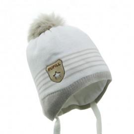 Pupil czapka Tomi Z15-10 krem/beż