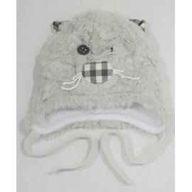 Pupil czapka Filon Z15-19 szary