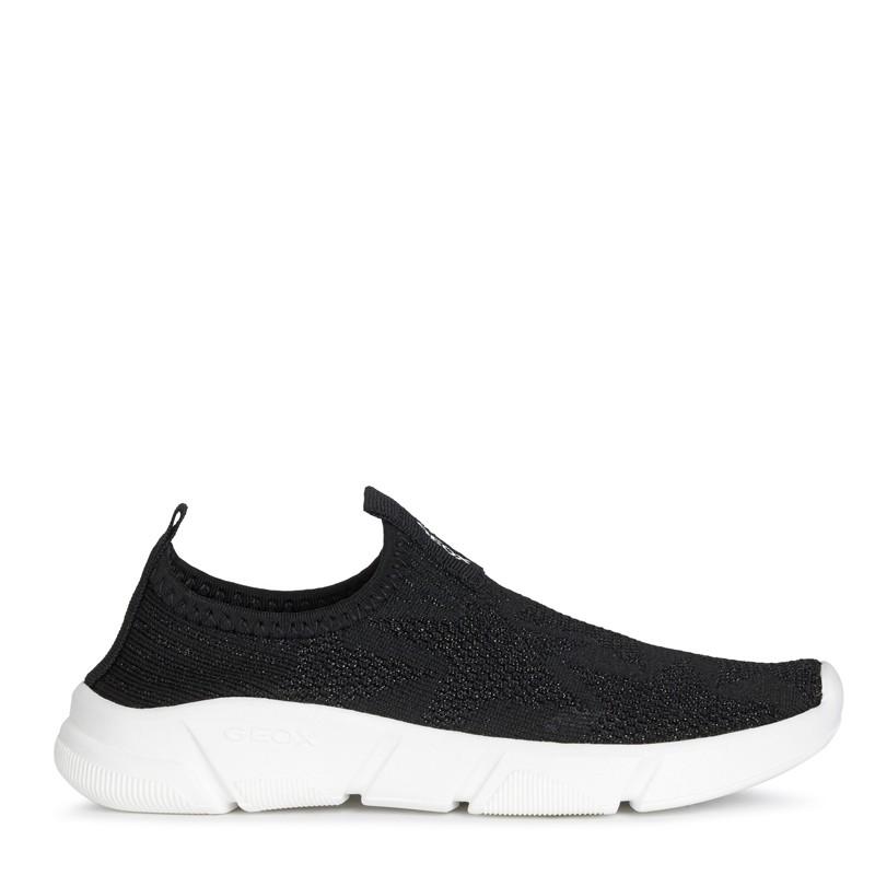 Buty sneakersy dla dziewczyny Geox J02DLA-0007Q-C9999 kolor czarny