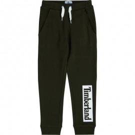Spodnie dresowe chłopięce TIMBERLAND T24B51-09B kolor czarny