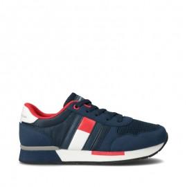 Sneakersy chłopięce TOMMY HILFIGER T3B4-30482-0732800 kolor granat