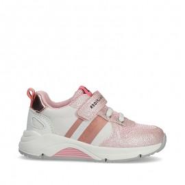 Sneakersy dziewczęce TOMMY HILFIGER T1A4-31029-1188X054 kolor różowy / biały