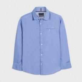 Koszula z długim rękawem chłopięca Mayoral 7134-94 Błękitny