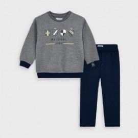 Komplet bluza i spodnie chłopięcy Mayoral 4813-91 Szary