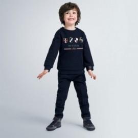 Komplet bluza i spodnie chłopięcy Mayoral 4813-90 Granatowy