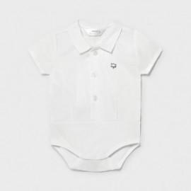 Body koszulowe dla chłopczyka Mayoral 1701-49 Biały