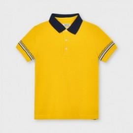 Koszulka polo dla chłopców Mayoral 3103-46 Żółty