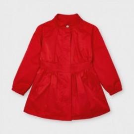 Kurtka przeciwwiatrowa dla dziewczynek Mayoral 3484-51 czerwona