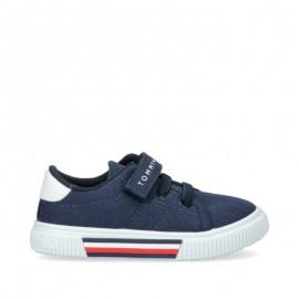 Sneakersy chłopięce TOMMY HILFIGER T1B4-31067-0890800 kolor granat