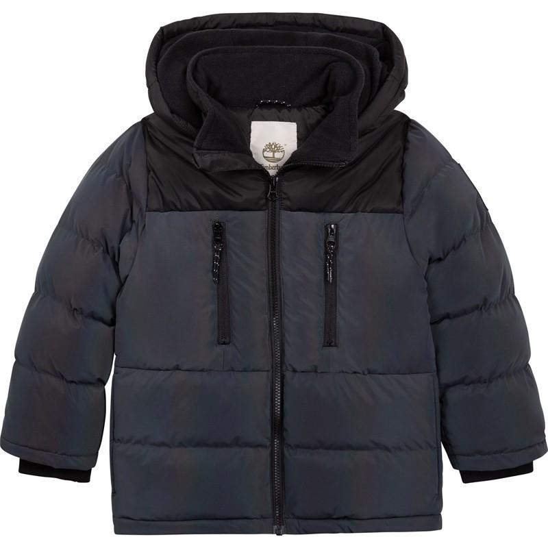 TIMBERLAND T26554-Z40 Kurtka zimowa chłopięca kolor szary