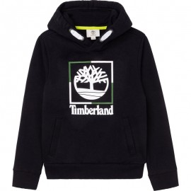 TIMBERLAND T25S60-09B Bluza z kapturem chłopięca kolor czarny