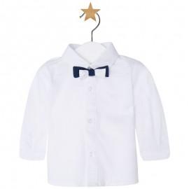 Mayoral 1124-17 Koszula dł.ręk. z muszką kolor Biały