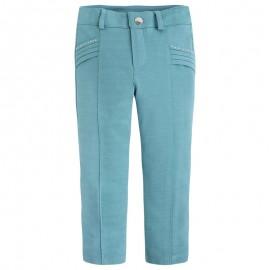 Mayoral 3708-75 Jeginsy jeansy dzianina kolor Nefryt