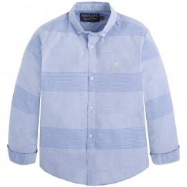Mayoral 6152-2 Koszula d/r poprzeczne paski kolor Błękitny