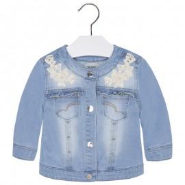 Mayoral 1428-82 Kurtka jeans aplikacje kolor Bleached