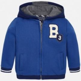 Mayoral 2495-33 Bluza plusz z aplikacjami kolor Niebieski