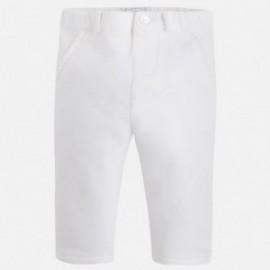 Mayoral 2528-37 Spodnie dł. plusz eleganckie kolor Kremowy