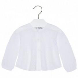 Mayoral 1326-61 Sweter rozp.dzian. ażur. kolor Biały