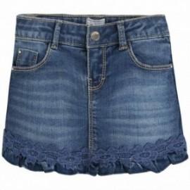 Mayoral 3914-5 Spódnica jeans z koronką kolor Jeans