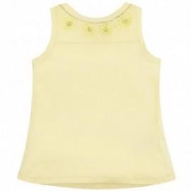 Mayoral 6096-41 Koszulka ramiączka kamienie kolor Żółty