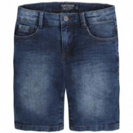 Mayoral 6220-96 Bermudy jeans 5 kieszeni kolor Ciemny