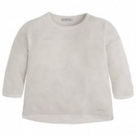 Mayoral 6310-58 Sweter trykot ażurowy kolor Złoty