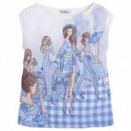 Mayoral 6050-21 Koszulka kr.ręk. dziewczynki kolor Nude