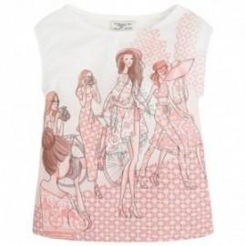 Mayoral 6050-22 Koszulka kr.ręk. dziewczynki kolor Atrament