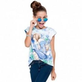 Mayoral 6078-25 Koszulka kr.ręk. dziewcz.pejz kolor Resort