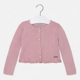 Mayoral 4328-12 Sweter rozp.dzian. romby kolor Różowy