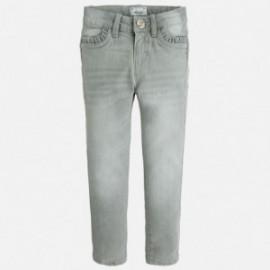 Mayoral 70-83 Spodnie rurki jeans basic kolor Szary