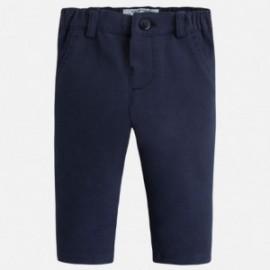 Mayoral 2528-36 Spodnie dł. plusz eleganckie kolor Granat