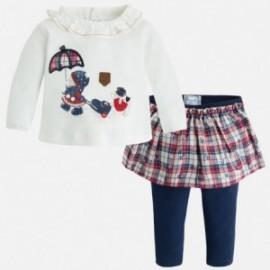Mayoral 2861-35 Kompl. spódnica i legginsy kolor Granatowy