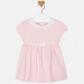 Mayoral 2884-80 Sukienka gładka kolor Różowy