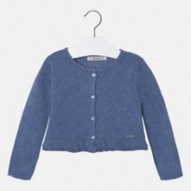 Mayoral 4328-11 Sweter rozp.dzian. romby kolor Niebieski