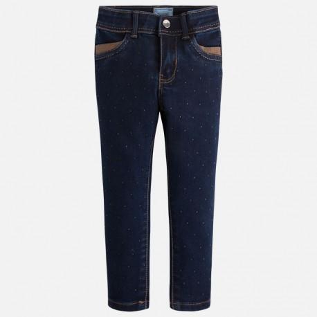 Mayoral 4550-48 Spodnie długie jeans kolor Ciemny