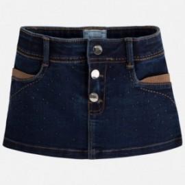 Mayoral 4916-48 Spódnica jeans ćwieki kolor Ciemny