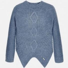 Mayoral 7318-15 Sweter romby moda kolor Niebieski