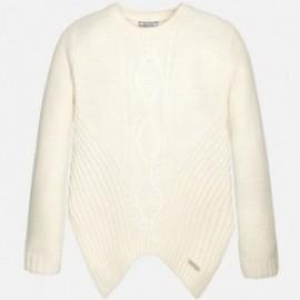 Mayoral 7318-16 Sweter romby moda kolor Len