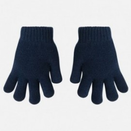 Mayoral 10039-19 Rękawiczki gładkie kolor Niebieski