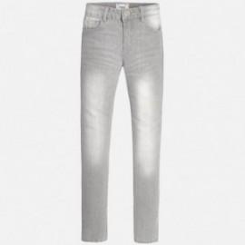 Mayoral 80-81 Spodnie długie jeans basic kolor Szary