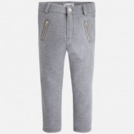 Mayoral 4724-10 Jeginsy jeansy dzianina kolor Stal
