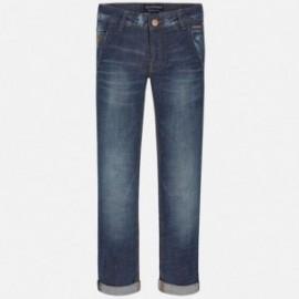 Mayoral 7526-53 Spodnie jeans fantazja kolor Ciemny