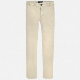 Mayoral 530-25 Spodnie klasyczne serżą kolor Korzenny