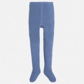 Mayoral 10061-55 Rajstopy gładkie kolor Niebieski