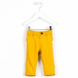 Losan spodnie 627-9668AC kolor musztardowy