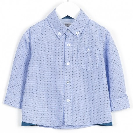 Losan koszula 627-3730AC kolor niebieski