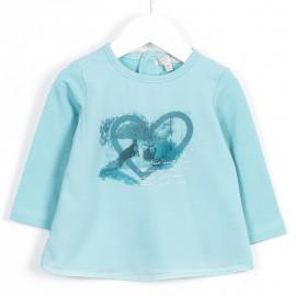 Losan bluzka 628-1723AD kolor morski