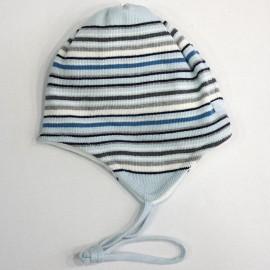 Doll Czapka dzianinowa 1623715159-3004 kolor niebieski