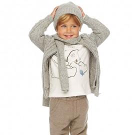 Losan sweter 627-5002AC kolor popiel